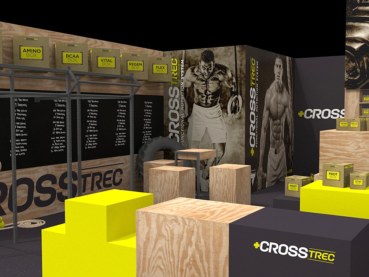 Exhibition Stand Bar : Kkmann graphic design motion graphics exhibition stand